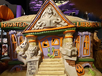 Hauntville Haunted Library